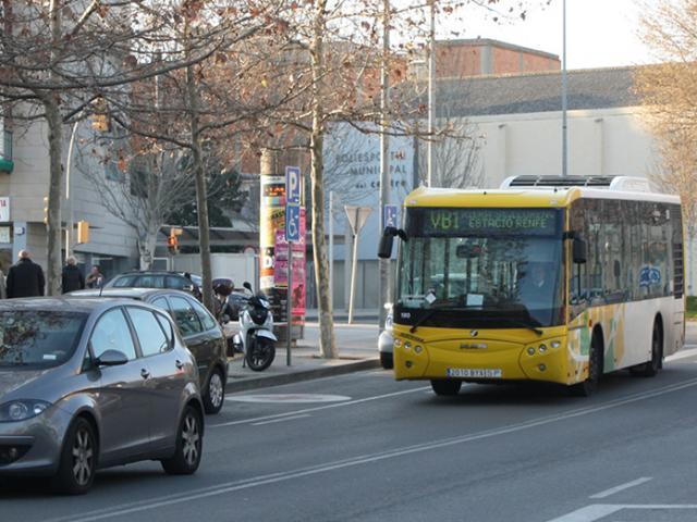 Autobus Viladecans estacio tren