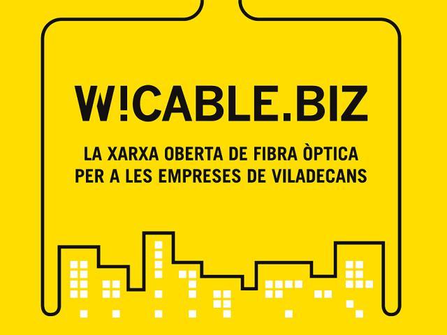 fibra optica empreses cable alta velocitat viladecans w!cable biz negocios tecnologia internet