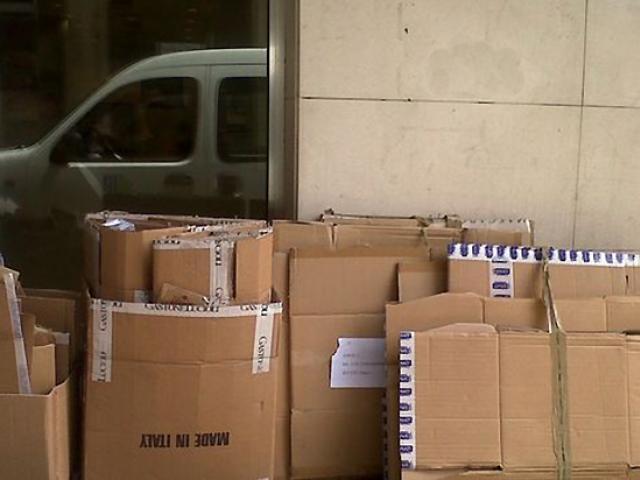 recollida residus comercials cartro carton papel paper comercios tiendas