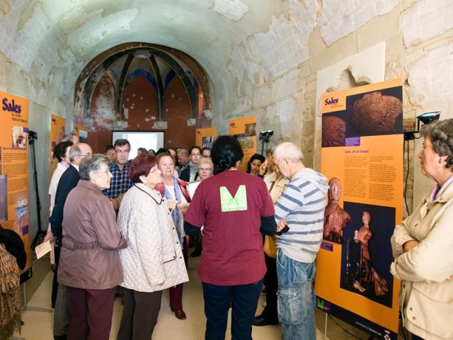 ermita de santa maria de sales visites guiades arxiu munciipal patrimoni cultural viladecans pla director