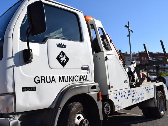 diposit municipal grua retirada cotxes carrer coches deposito vehículos vehicles