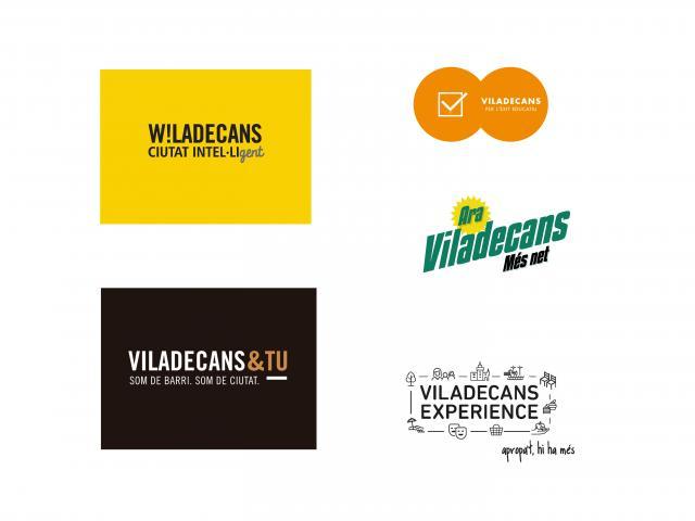 marca ajuntament viladecans logotip escut