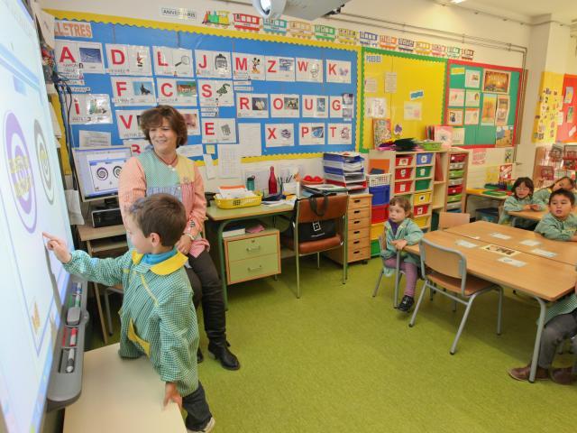 w!escola viladecans fibra optica escoles