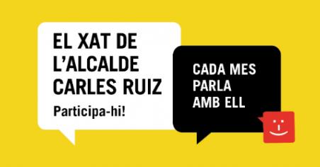 El xat de l'alcalde Carles Ruiz
