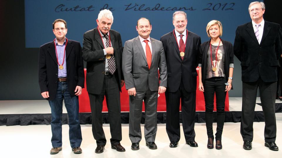 distincions honor medalles viladecans 2012