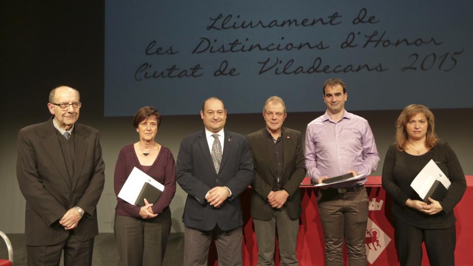 distincions honor medalles viladecans 2015 guardons