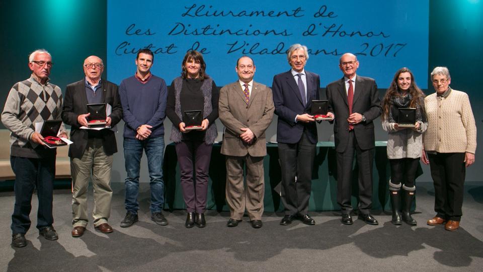 distincions honor medalles viladecans 2017 guardons