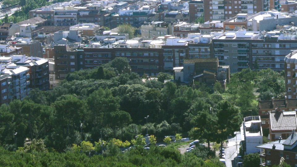 bosc de can ginestar parc zona verda viladecans